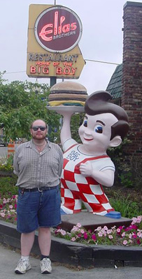Me at the Holy Shrine of the Big Boy